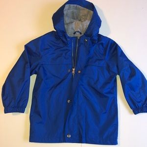 Toddler boy's rain jacket